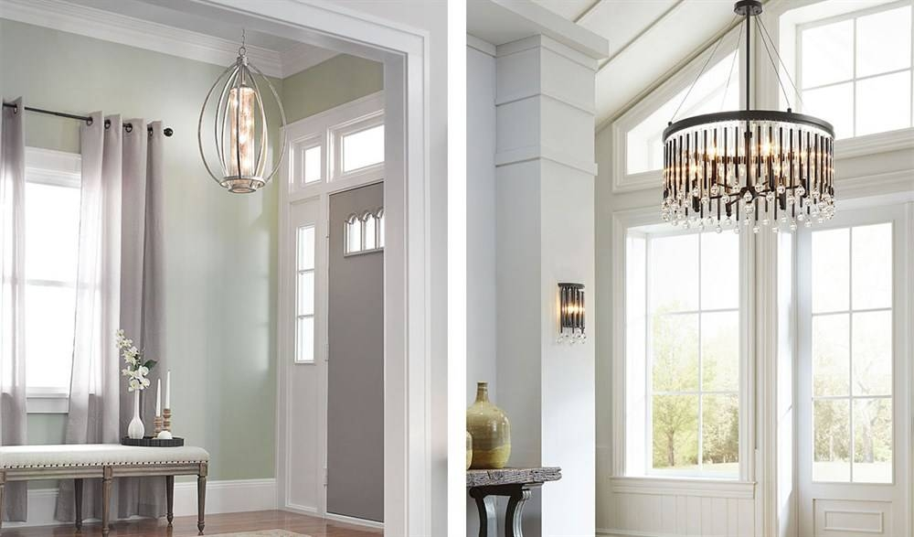 Foyer Lighting Ideas & Tips Including Pendant And Sconces Within Pendant Lights For Entryway (#9 of 15)