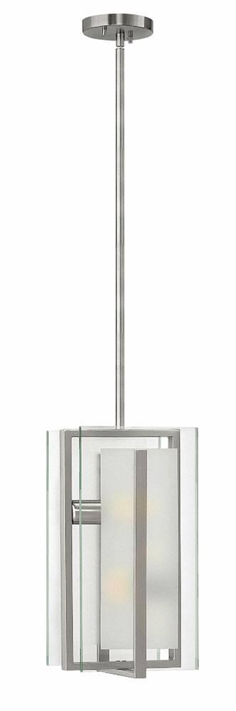Fredrick Ramond Fr56508bni Latitude Modern Brushed Nickel Mini Pertaining To Brushed Nickel Pendant Lights (View 7 of 15)