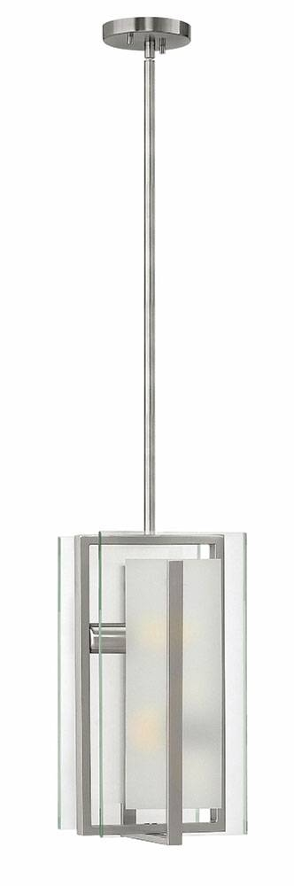 Fredrick Ramond Fr56508Bni Latitude Modern Brushed Nickel Mini Within Brushed Nickel Mini Pendant Lights (#2 of 15)