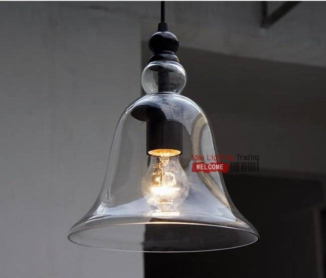 15 Best Collection Of Glass Bell Shaped Pendant Light