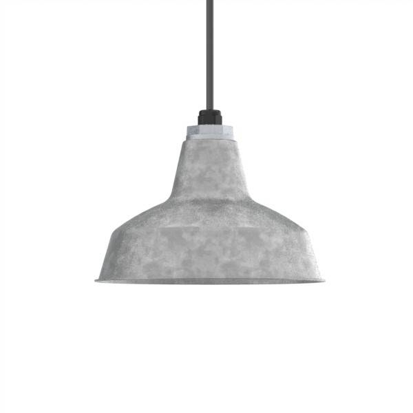 Galvanized Pendant Light – Hbwonong Within Galvanized Pendant Barn Lights (#9 of 15)