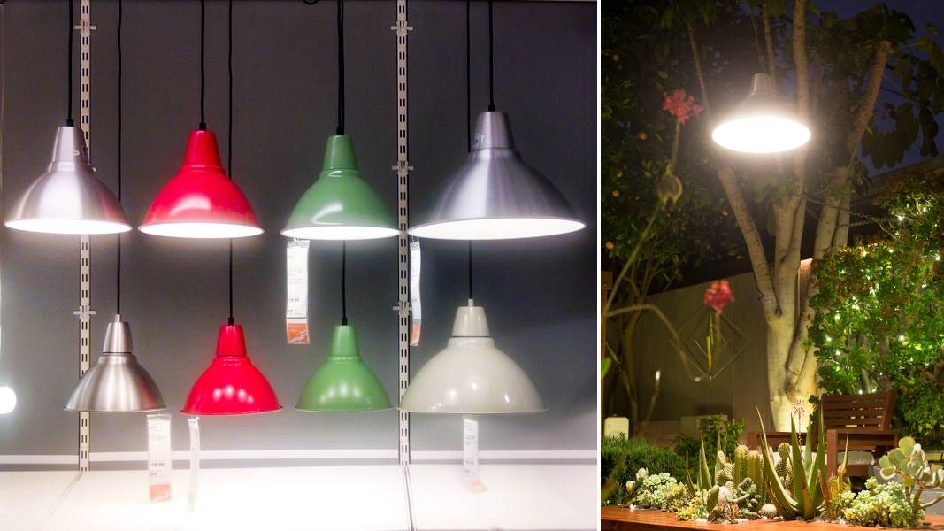 Garden Lighting Idea: This Ikea Pendant Lamp Survives The Socal Intended For Ikea Pendent Lights (#5 of 15)