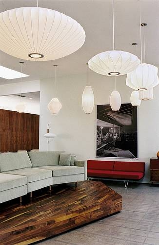 Inspiration about George Nelson Saucer Bubble Pendant Lamp Light Replica | White In George Nelson Pendant Lights (#2 of 15)