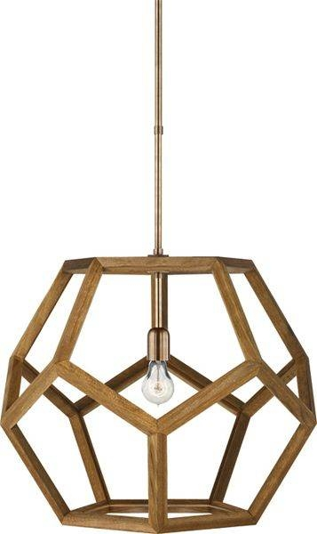 Get 20+ Wood Pendant Light Ideas On Pinterest Without Signing Up For Dodecahedron Pendant Lights (View 7 of 15)