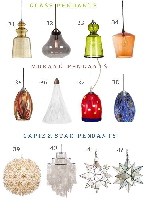 Inspiration about Get The Look: 48 Pendant Lights Perfect For Hallways – Stylecarrot Regarding Murano Glass Mini Pendant Lights (#3 of 15)