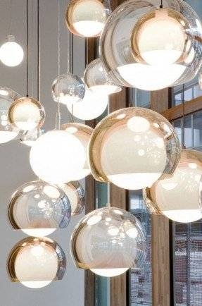 Glass Globe Pendant Light – Foter Pertaining To Mercury Glass Globes Pendant Lights (#8 of 15)