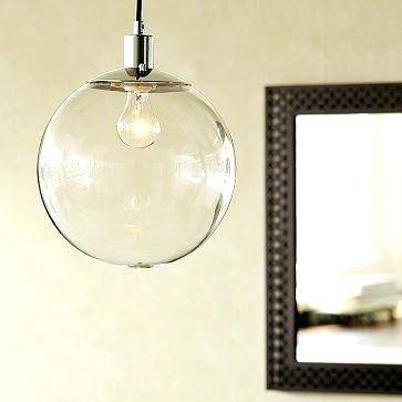 Glass Globe Pendant – Maternalove With Regard To Large Glass Ball Pendant Lights (#7 of 15)