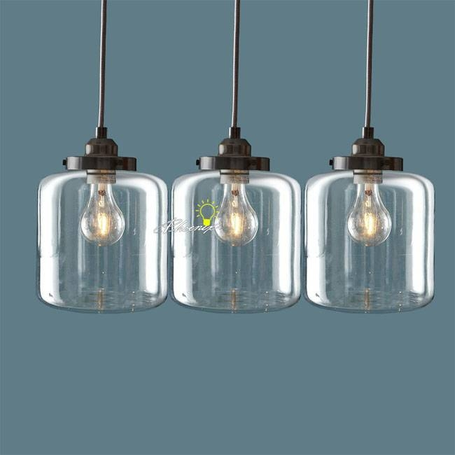Inspiration about Glass Jar Pendant Light – Hbwonong Inside Ball Jar Pendant Lights (#6 of 15)