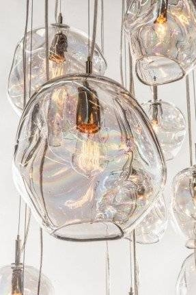 Glass Kitchen Pendant Lights – Foter Inside Hand Blown Glass Pendant Lights Australia (View 5 of 15)