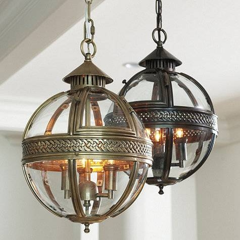 Glass Orb Pendant – Look 4 Less And Steals And Deals (#8 of 15)