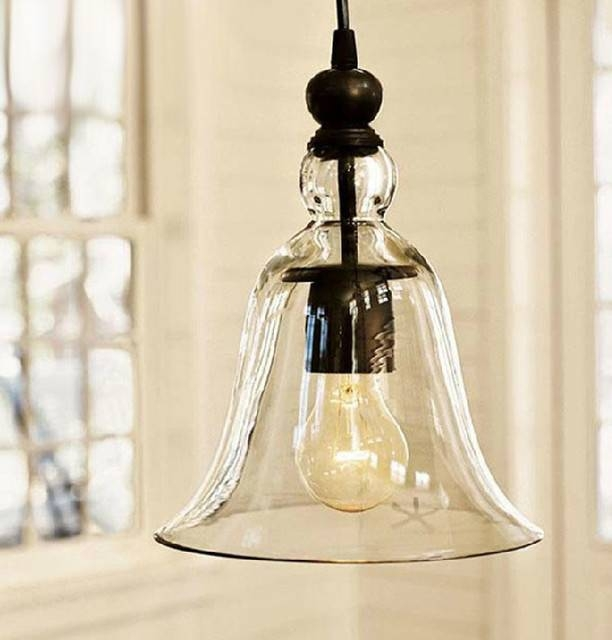 Inspiration about Glass Pendant Lighting For Kitchen – Home Design Regarding Rustic Clear Glass Pendant Lights (#8 of 15)