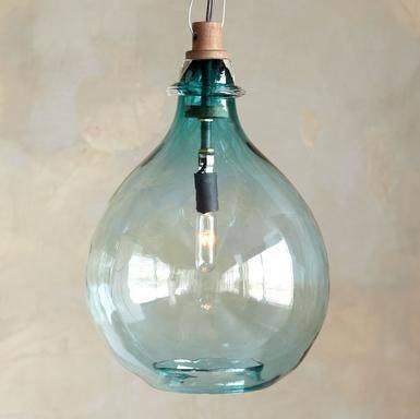 Inspiration about Glass Pendant Lights « Perspective – The Blog Of Apartment 48 Intended For Turquoise Blue Glass Pendant Lights (#3 of 15)