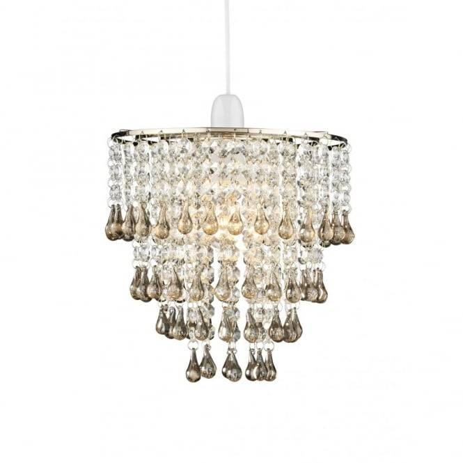Glass Shade Easy Fit Ceiling Pendant Light Shade Regarding Easy Fit Pendant Lights (#10 of 15)