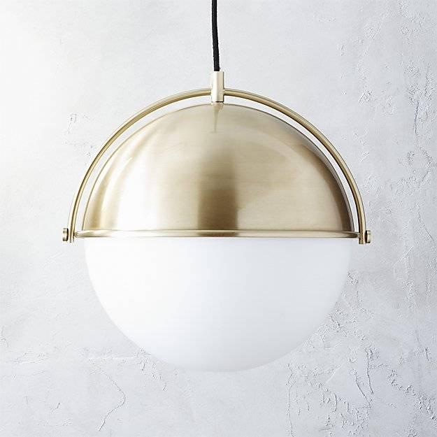 Globe Pendant Light | Cb2 In Cb2 Pendant Lighting (#7 of 15)