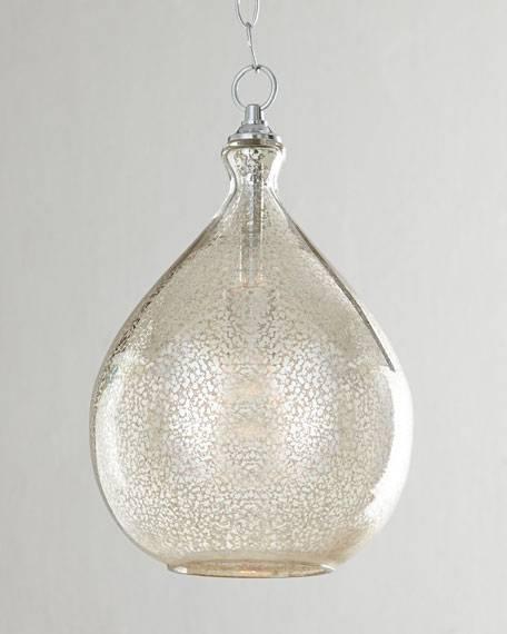 Gorgeous Glass Pendant Light Fixtures Pendant Lighting Kitchen In Mercury Glass Pendant Lights Fixtures (#7 of 15)