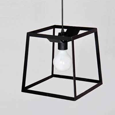 Graceful And Chic Wrought Iron Cube Cage  (#4 of 15)
