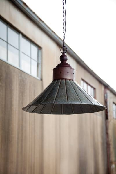 Great Galvanized Pendant Light Galvanized Tin Pendant Light With Tin Pendant Lights (#7 of 15)