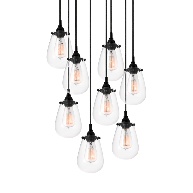 Inspiration about Great Multi Pendant Lighting Contemporary Three Pendant Light Pertaining To Short Pendant Lights Fixtures (#14 of 15)