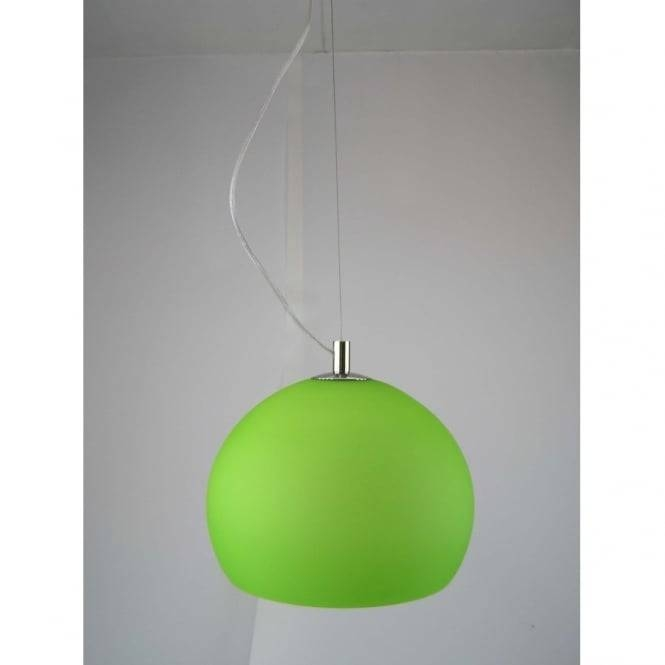 Inspiration about Green Pendant Lights Throughout Lime Green Pendant Lights (#14 of 15)