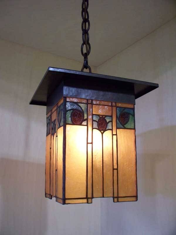 Inspiration about Greene And Greene Style Arts And Crafts Hand Crafted Lighting Inside Arts And Crafts Lights (#6 of 15)