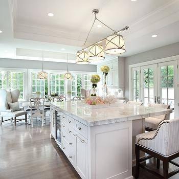 Inspiration about Grosvenor Triple Pendant Light – Transitional – Kitchen In Grosvenor Lights Pendants (#1 of 15)