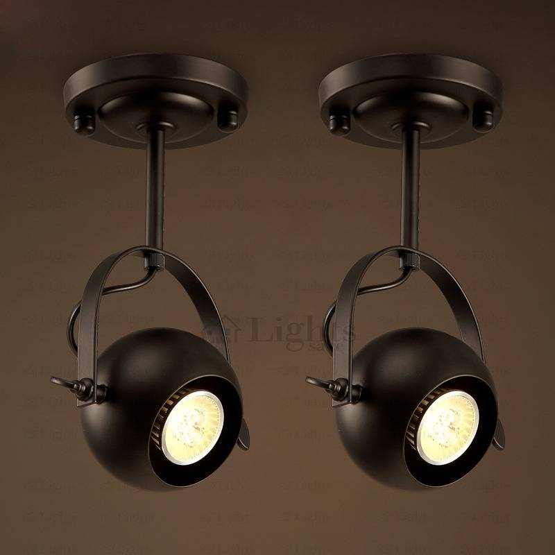 Inspiration about Gu10 Wrought Iron Kitchen Ceiling Light Fixtures Regarding Wrought Iron Lights Fixtures For Kitchens (#14 of 15)