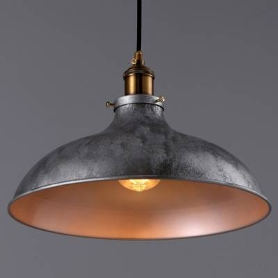 Gun Metal Grey 1 Light Pendant Light – Beautifulhalo With Industrial Looking Pendant Light Fixtures (#7 of 15)