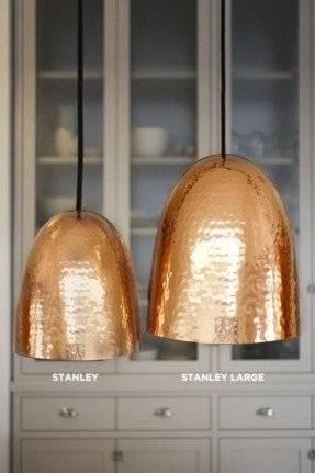 Hammered Copper Lamps – Foter For Hammered Copper Pendant Lights (#13 of 15)
