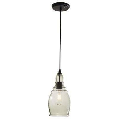 Hampton Bay – Pendant Lights – Hanging Lights – The Home Depot For Hampton Bay Mini Pendant Lights (View 4 of 15)