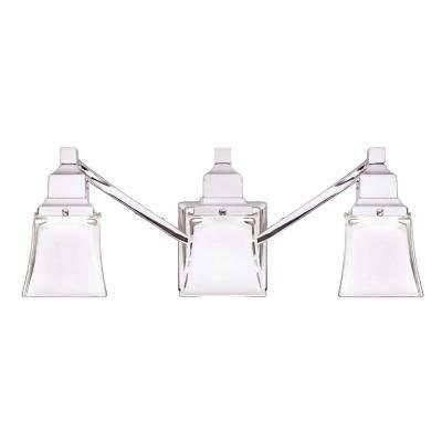 Hampton Bay – Vanity Lighting – Bathroom Lighting – The Home Depot In Hampton Lights Fixtures (View 8 of 15)
