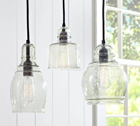 Hand Blown Glass Pendant Light Shades | Roselawnlutheran With Blown Glass Pendant Lighting For Kitchen (#8 of 15)
