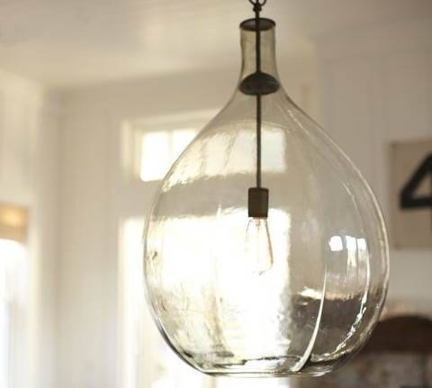 Hand Blown Glass Pendant Lights – Naindien Throughout Hand Blown Glass Pendant Lights (#7 of 15)