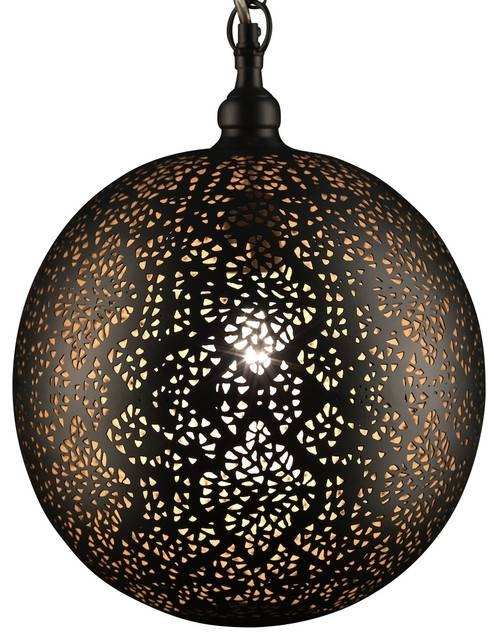 Hanging Dual Pendant Light With Punched Tin Chisel Pattern New Within Punched Metal Pendant Lights (#4 of 15)