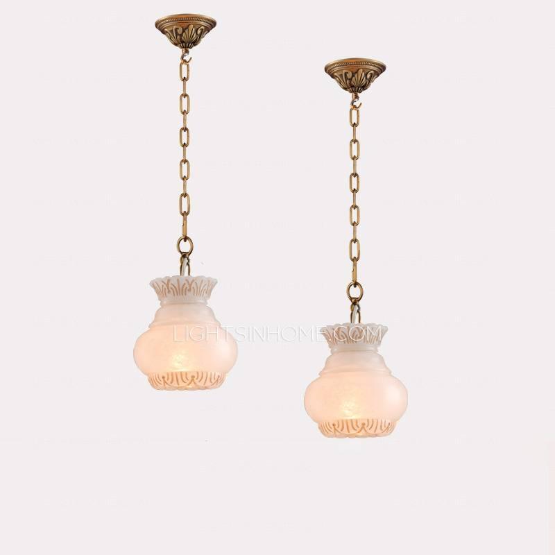 Hanging Lantern Alabaster Shade Pendant Light Fixtures Inside Alabaster Pendants (#10 of 15)