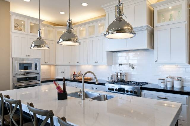Harmon Pendant – Transitional – Kitchen – Candlelight Homes With Regard To Restoration Hardware Pendants (View 5 of 15)