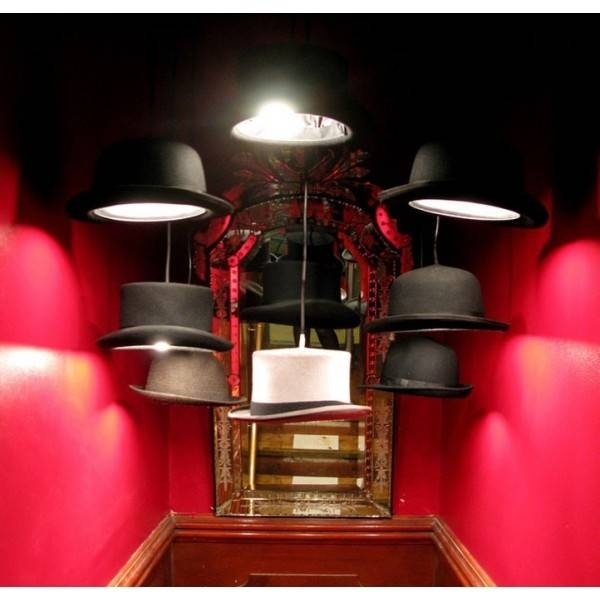 Hats Off To The Bowler Hat Pendant Light – Diy Inspiration With Jeeves And Wooster Pendant Lights (#2 of 15)
