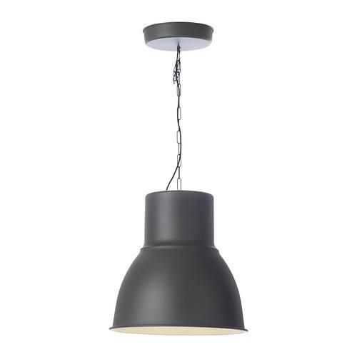 """Hektar Pendant Lamp – Dark Gray, 19 """" – Ikea For Ikea Pendants (#2 of 15)"""