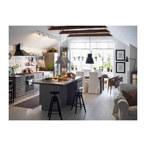 """Hektar Pendant Lamp – Dark Gray, 9 """" – Ikea Within Ikea Kitchen Pendant Lights (#8 of 15)"""