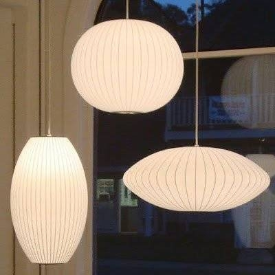 Herman Miller George Nelson Bubble Lamp Pendant – Wilder Pertaining To George Nelson Pendant Lights (#9 of 15)