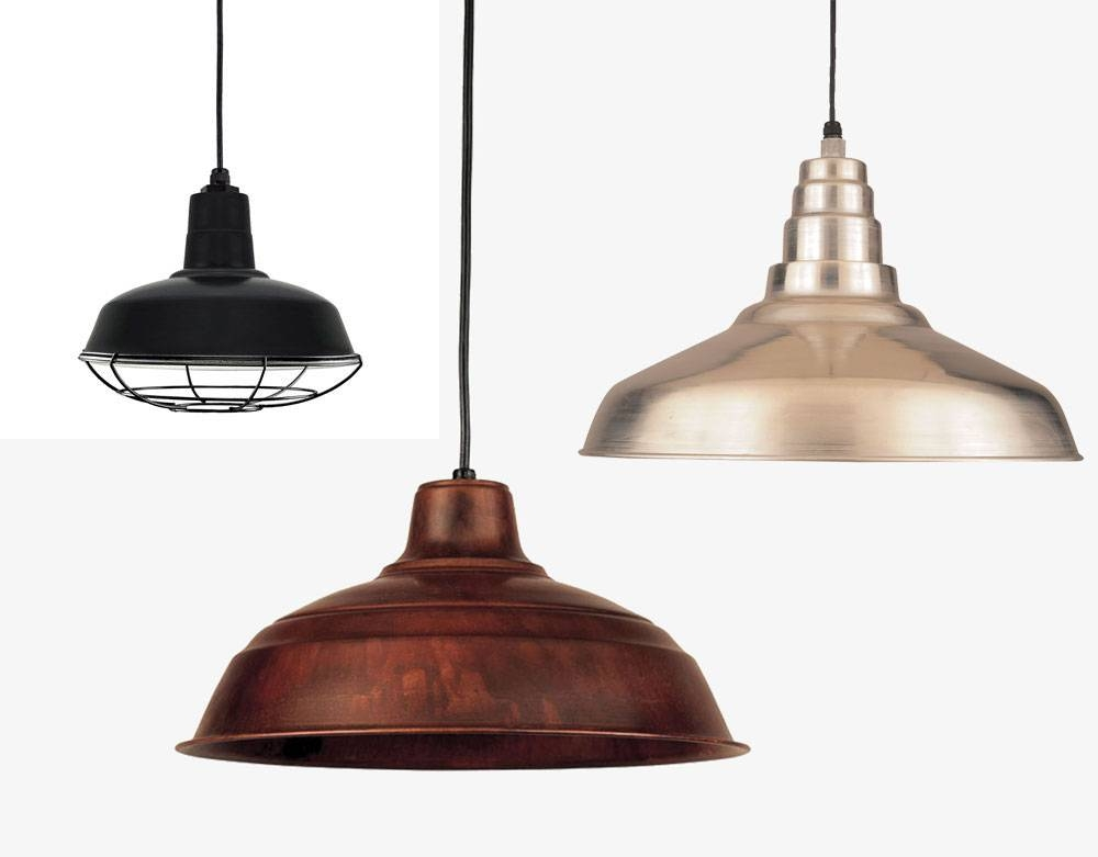 Hi Lite Manufacturing Rlm Warehouse Shade Exterior Pendant Pertaining To Warehouse Pendant Light Fixtures (View 3 of 15)