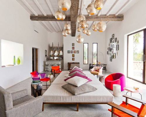High Ceiling Pendant Lights | Houzz Within Pendant Lighting For High Ceilings (#9 of 15)