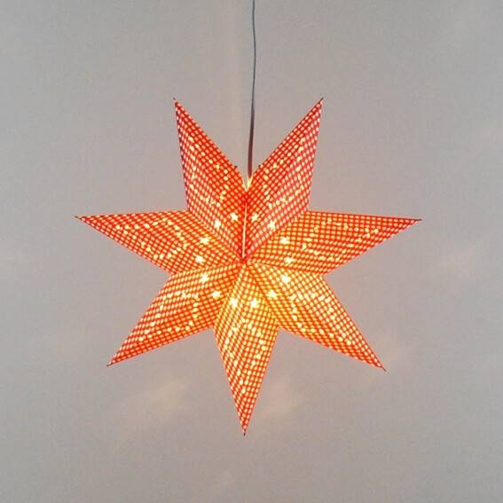 High Quality Paper Star Lamp Buy Cheap Paper Star Lamp Lots From Throughout Paper Star Pendant Lights (#9 of 15)