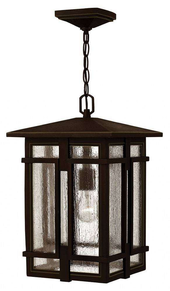 Hinkley 1962Oz Tucker Traditional Oil Rubbed Bronze Exterior Within Exterior Pendant Light Fixtures (#10 of 15)