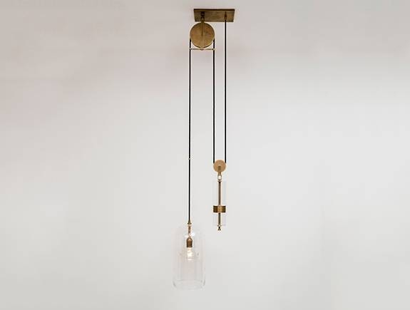 Holly Hunt Inside Pulley Pendant Lights (#13 of 15)