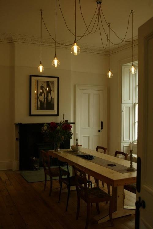 Home Decor + Home Lighting Blog » Blog Archive » Industrial Within Bare Bulb Pendant Lights Fixtures (#10 of 15)