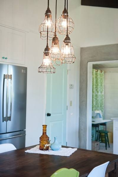 Home Decor + Home Lighting Blog » Blog Archive » Industrial Within Bare Bulb Pendant Lights (#9 of 15)