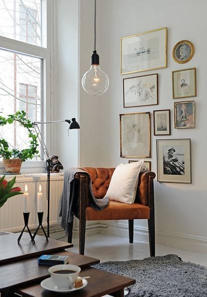 Home Decor + Home Lighting Blog » Blog Archive » Industrial Within Bare Bulb Pendants (#12 of 15)