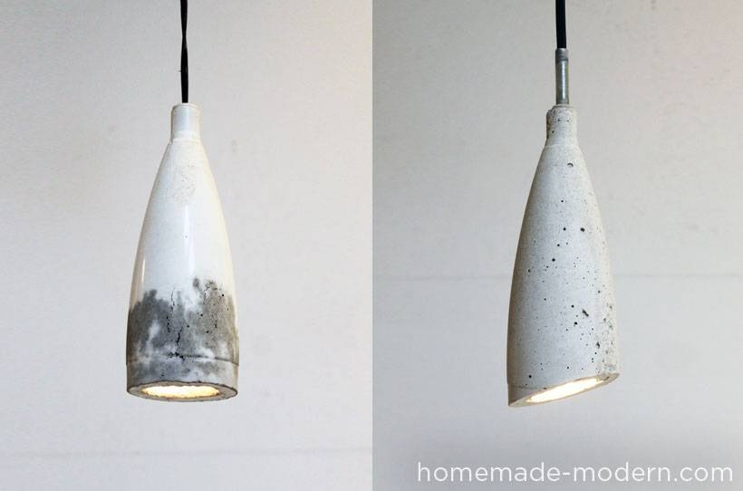 Homemade Modern Ep9 Concrete Pendant Lamp For Make Your Own Pendant Lights (View 10 of 15)