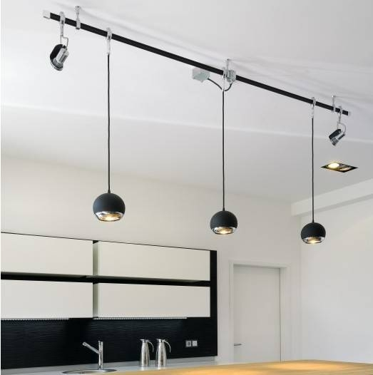 Flexible Track Lighting System: 15 Best Ideas Of Flexible Track Lighting With Pendants