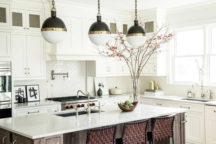How To Figure Spacing For Island Pendants – Style House Interiors With Regard To Large Hicks Pendants (#12 of 15)